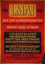 DGB-Aufruf zum 1. Mai 1950